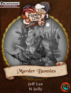 Cover of Murder Bunnies by Flaming Crab Games