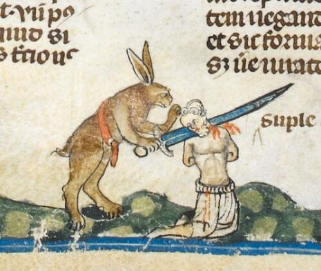 Rabbit with a sword