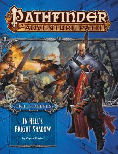 in hell's bright shadow cover