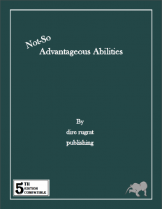 not so advantageous abilities cover
