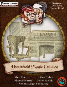 Letters From the Flaming Crab: Household Magic Catalog
