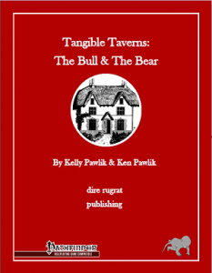 The Bull & The Bear PFRPG cover