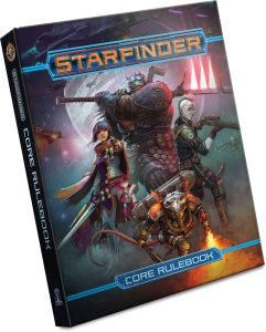 Starfinder RPG cover
