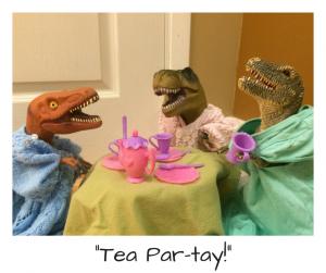 Dinovember tea party