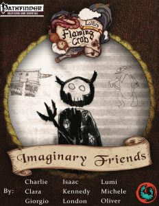 Letters From the Flaming Crab: Imaginary Friends book cover