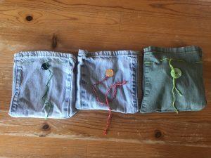 Children's dice bags