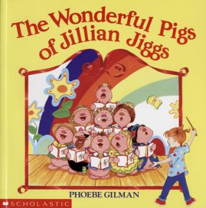 The cover of the Wonderful Pigs of Jillian Jiggs