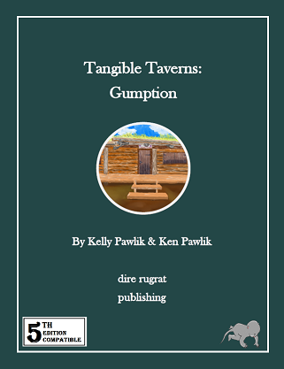 cover of Tangible Taverns: Gumption