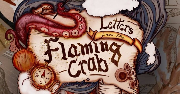 letters from the flaming crab logo