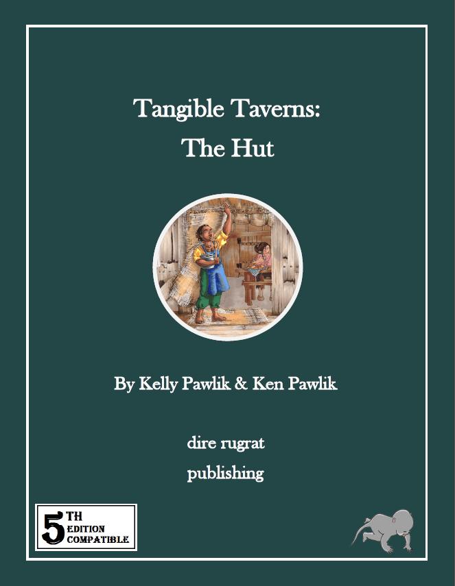 Tangible Taverns: The Hut (5e) cover