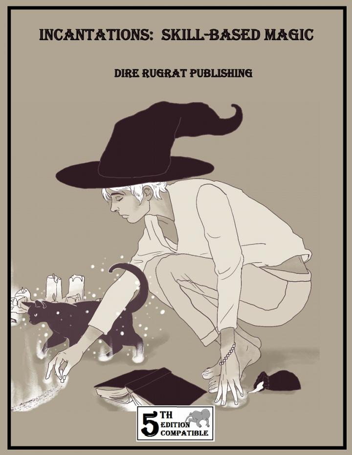 Cover of Incantations: Skill-Based Magic